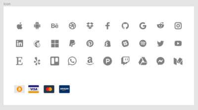 Apps & Payment Methods UI