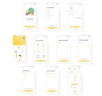 Calorie Counter App UI