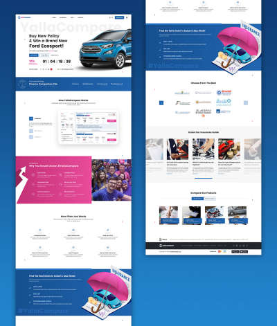 Car Insurance Web Design