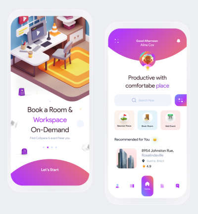 CoSpace Booking App