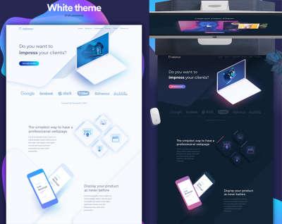 Creative UI Website Kit