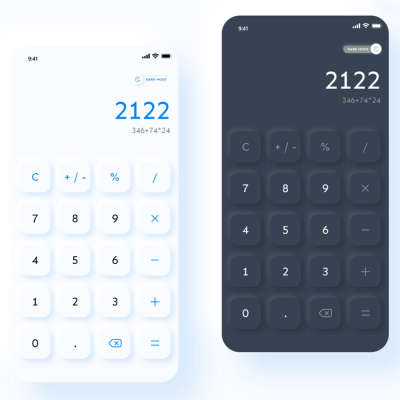 Calculator App UI Design