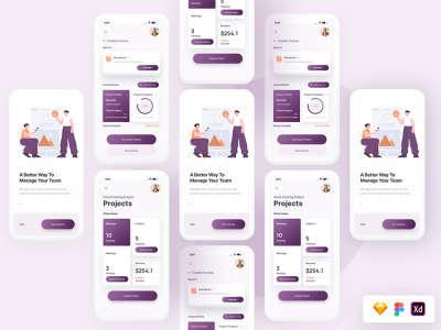 Team Project UI Screens