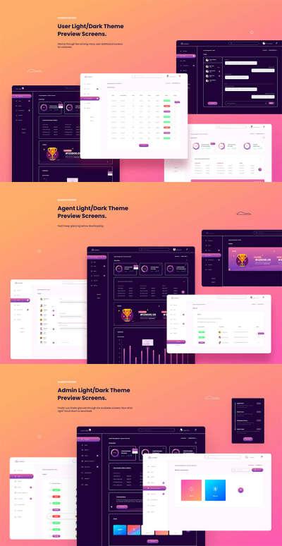 Web Dashboard UI Kit