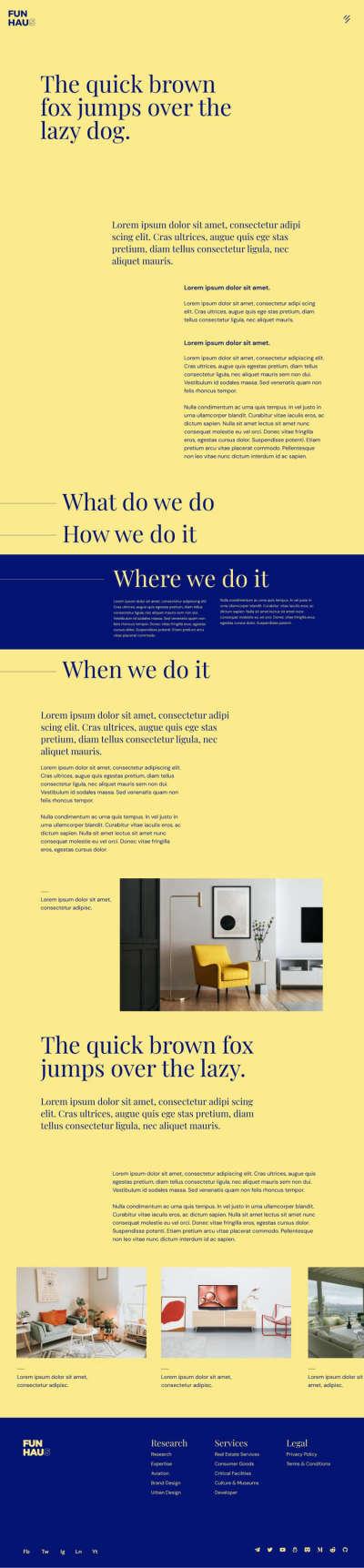 Duo Tone Web Design