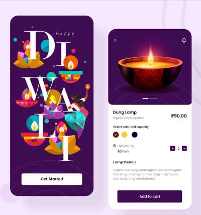 E-commerce App UI kit