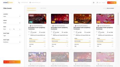 Event Management Portal
