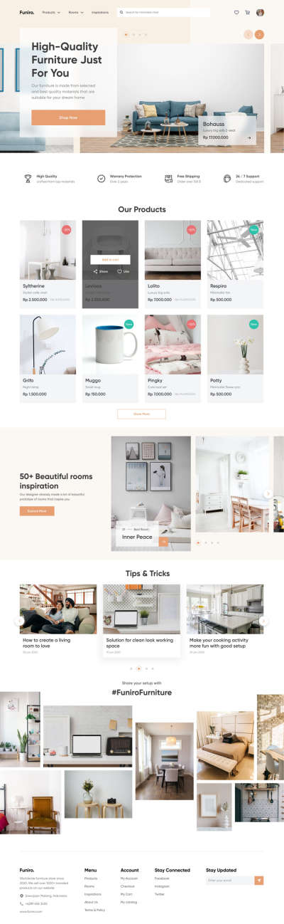 Furniture Shop WebDesign