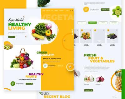 Grocery Shop Web Design