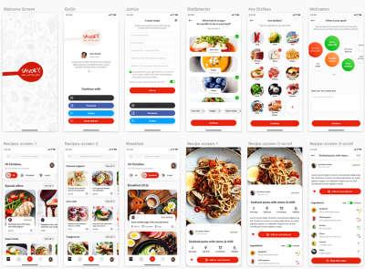 Healthy Food App UI