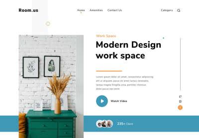 Modern Design Work Space
