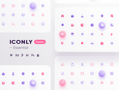 Iconly – Essential icons