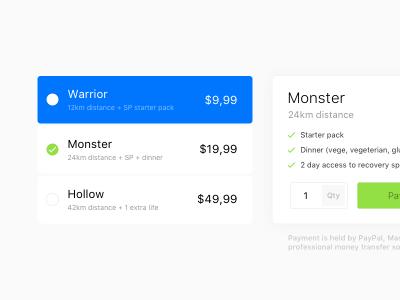 Pricing Table UI Kit