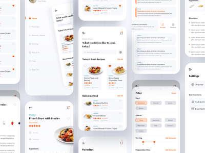 Simple Cooking App Design