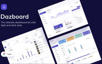Ultimate Dashboard UI Kit