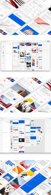 Agency Web Template UI Kit