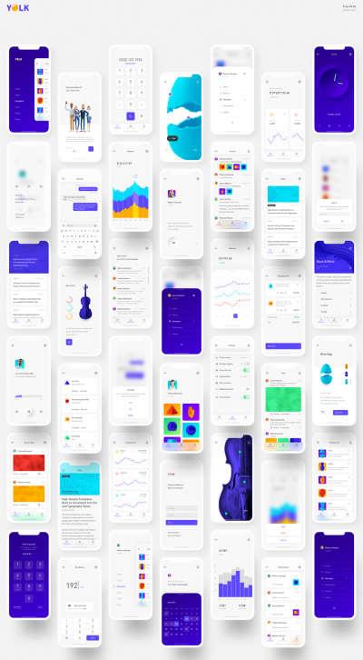 Yolk – Universal iOS UI Kit
