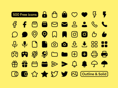 Basil Icons Pack