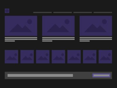 Adobe Xd LoFi Dark UI Kit