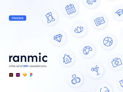 Ranmic – Random Miscellaneous Icons