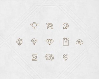 Allumi XD icon set