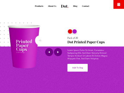 Animated Product Page with XD