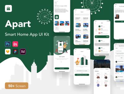 Apart – Smart home XD UI kit