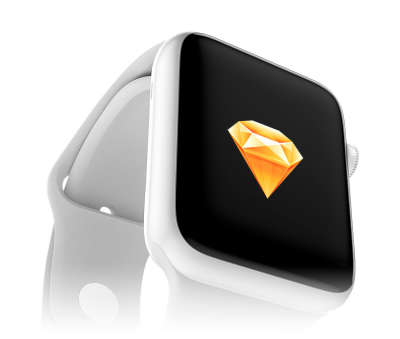 Apple Watch Edition Mockup