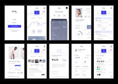avsc. Clothes App design