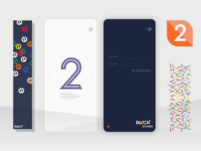 Block-squared UI&Animation Design