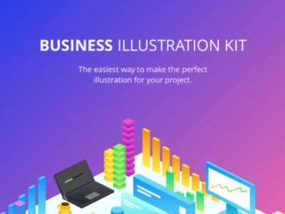 Business Illustration Kit For Figma