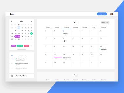 Calendar Desktop App