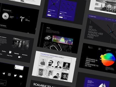 Concept Websites – Showcase