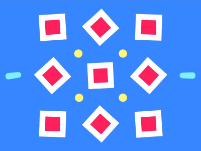 Cool shapes animation with XD