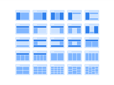 Free Sitemap Cards made with Figma
