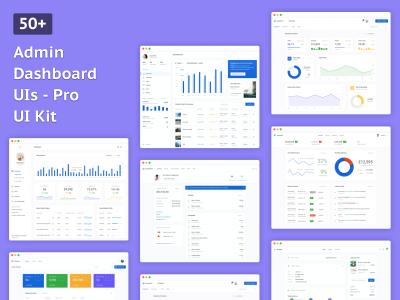 Dashboard Pro UI Kit