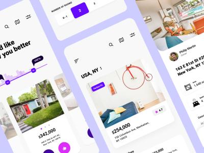 Experimental Real Estate App Design