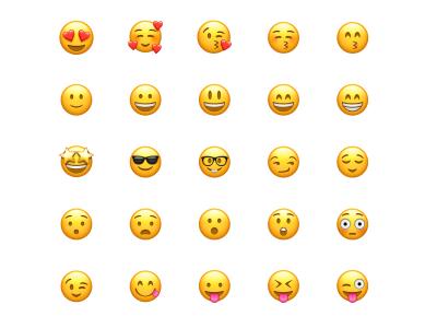 Apple Emoji Icons