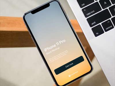 iPhone 11 Pro Real Mockup