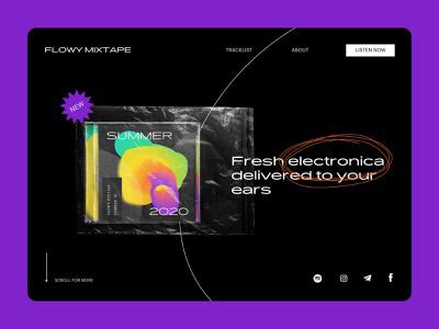 Flowy Mixtape – Playlist Cover