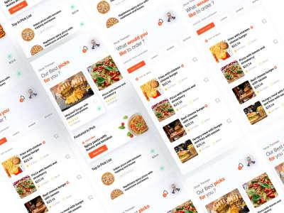 Food Ordering App UI Kit