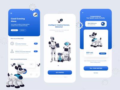 Free AI Remote App Interface Design