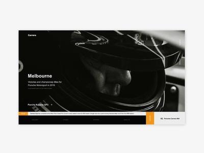FREE Australian Grand Prix UI Design