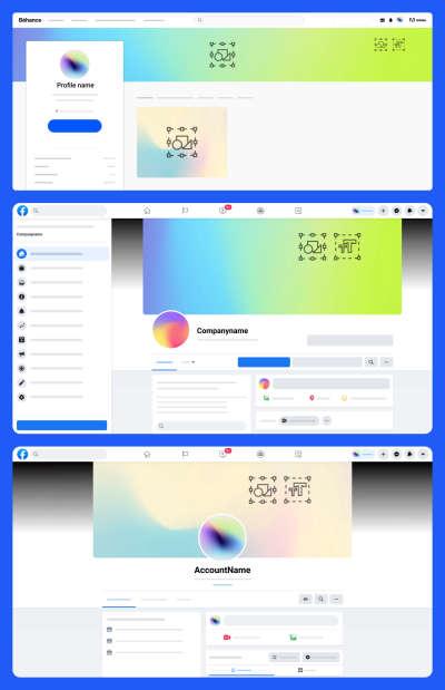 Free Social Media Kit for Figma