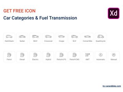 Free XD Car icons