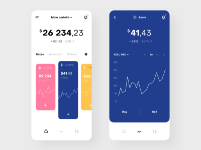 Freebie - Cryptocurrency Exchange App