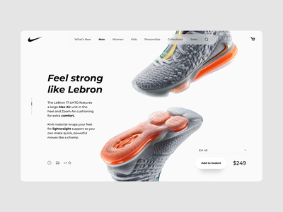 Freebie - eCommerce Desktop Product Page