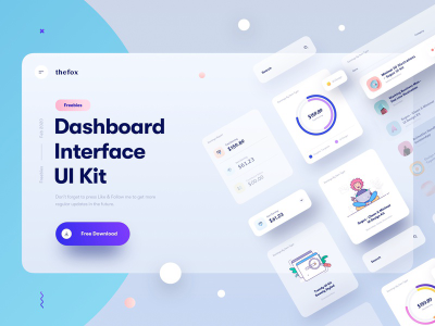 Freebie | Dashboard Interface Elements