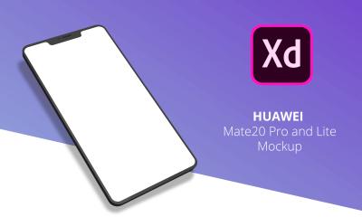 Huawei Mate 20 Minimal Mockup