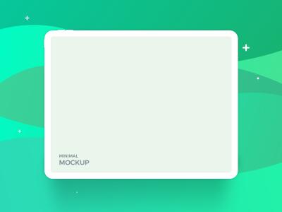 iPad Pro Minimal XD Mockup